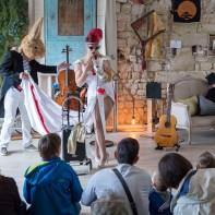 Journées européennes di Patrimoine 2017 à la Cour des Arts. ©www.pallages.com